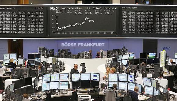 Elíndice DAX 30 bajó 1.77% hasta los 11,325 puntos este lunes. (Foto: AP)