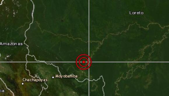 El epicentro del seísmo se localizó a 30 kilómetros al norte de Yurimaguas (Loreto) y a una profundidad de 21 kilómetros. (Foto: IGP)