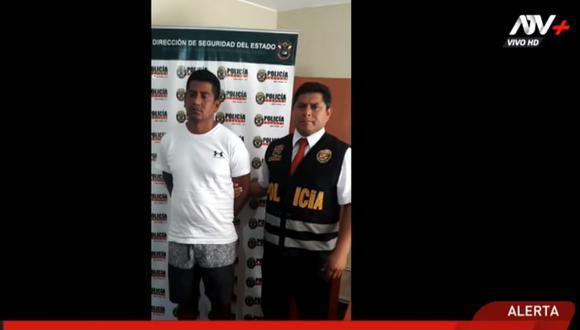 Juan Carlos Monzón Sotomayor registra dos requisitorias. (ATV+)
