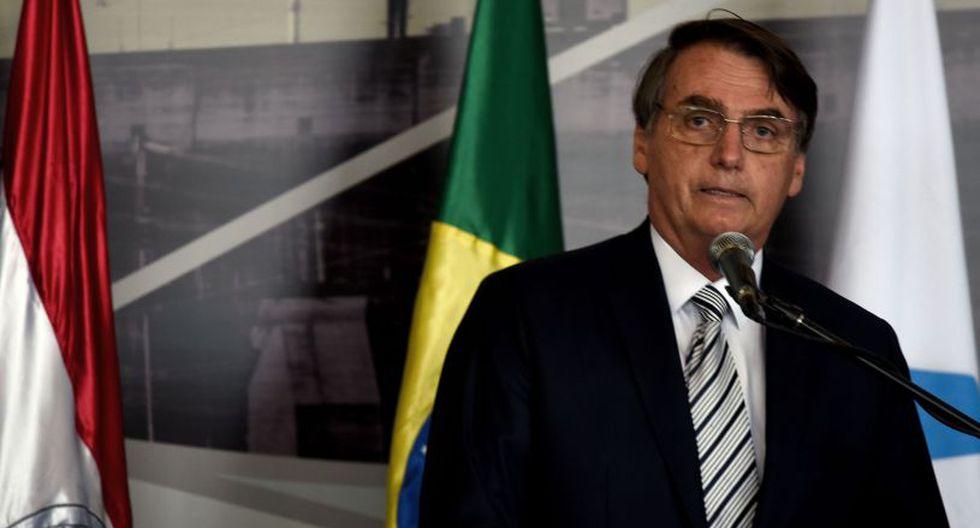 Bolsonaro recordó que se reunirá con Abdo Benítez el próximo 12 de marzo, en Brasilia. (Foto: AFP)