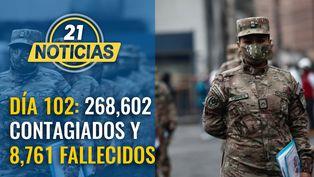 Cifras se elevan a 268,602 contagiados y 8,761 fallecidos por COVID-19