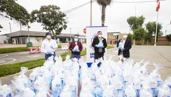 Los 130 mil kits de aseo fueron adquiridos por el Gobierno Regional del Callao. (Difusión)