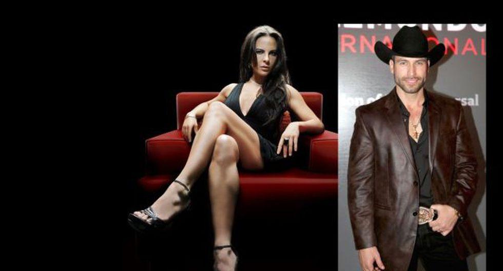 Kate del Castillo ('La reina del sur') se encontró con Rafael Amaya ('El señor de los cielos'). (Telemundo)