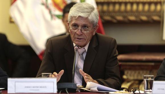 """Jorge Castro: """"El preinforme Lava Jato está en 50%"""". (Perú21)"""