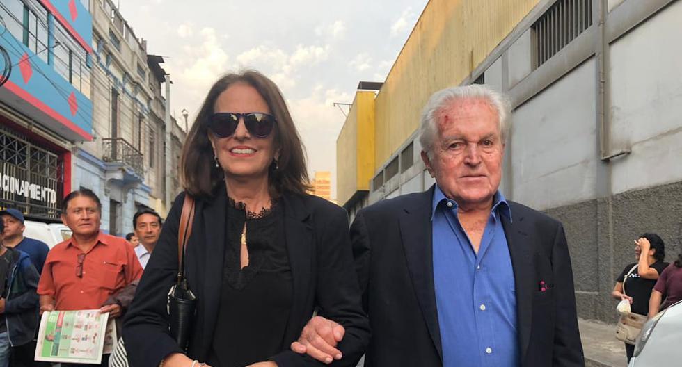 Javier Valle Riestra se pronunció por la muerte de Alan García. (Nadia Quinteros)