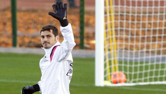 Iker Casillas se fue del Real Madrid al Porto. (EFE)