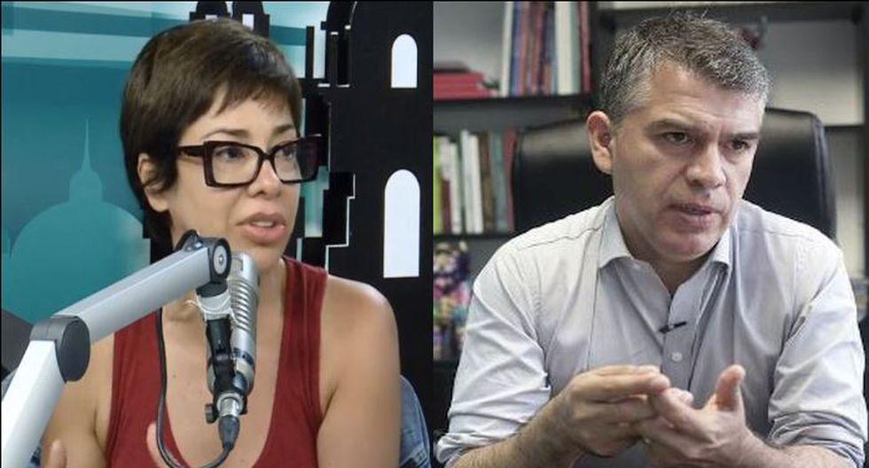 """Tatiana Astengo sobre Julio Guzmán: """"El hombre es infiel, la mujer también es infiel. No existe la monogamia"""". (Composición)"""