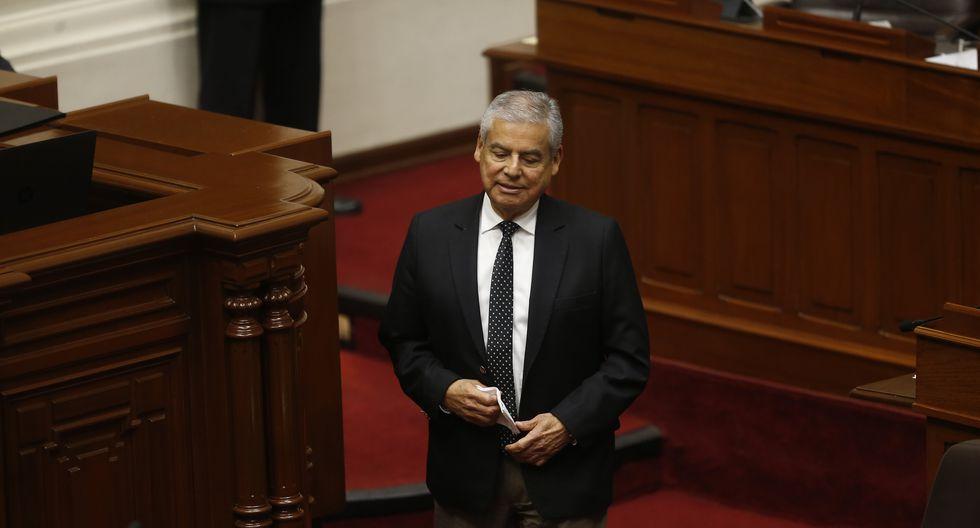 "César Villanueva tras rechazo de asilo a Alan García: ""No hay persecución política"". (Mario Zapata/GEC)"