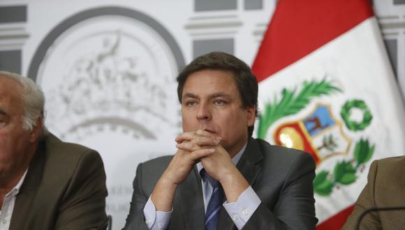Edmundo del Águila es congresista de Acción Popular. (Mario Zapata)