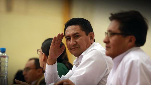 en la sombras. Cerrón fue favorecido por juez de Huancavelica con un hábeas corpus. (GEC)
