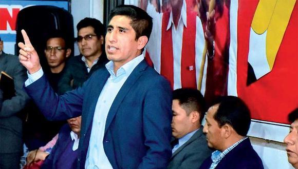Arturo Cárdenas es investigado por la Fiscalía por el caso Los Dinámicos del Centro. (Foto: Perú Libre)
