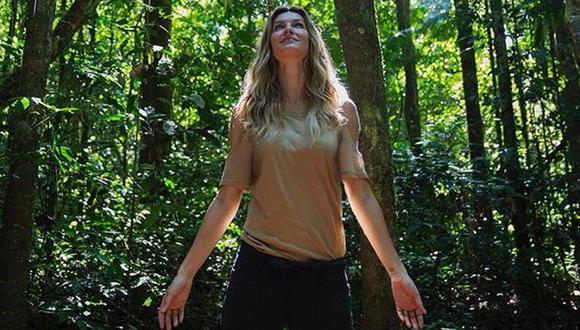 Gisele Bündchen, de modelo por azar a ambientalista por convicción. (Foto: Facebook de Gisele Bündchen)