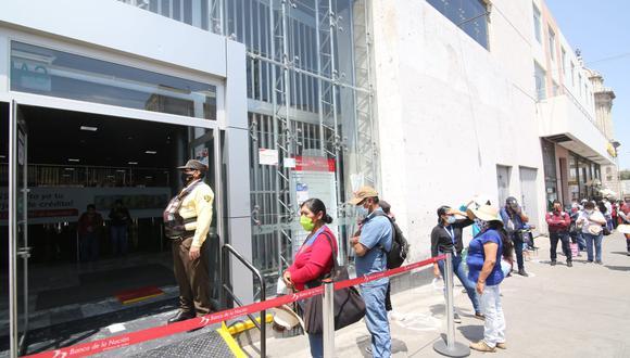Banco de la Nación Arequipa  Foto: Leonardo Cuito