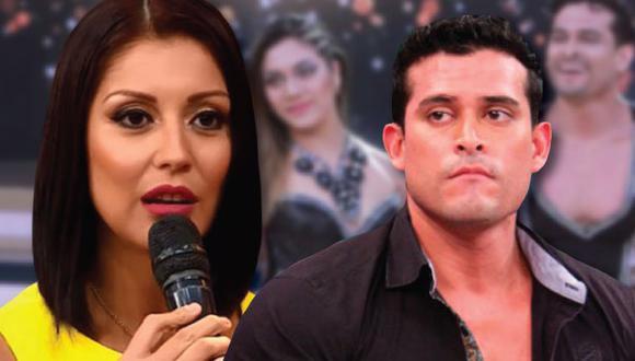 Karla Tarazona le dijo de todo a su ex pareja y padre de su hijo Valentino. (Foto: Composición)