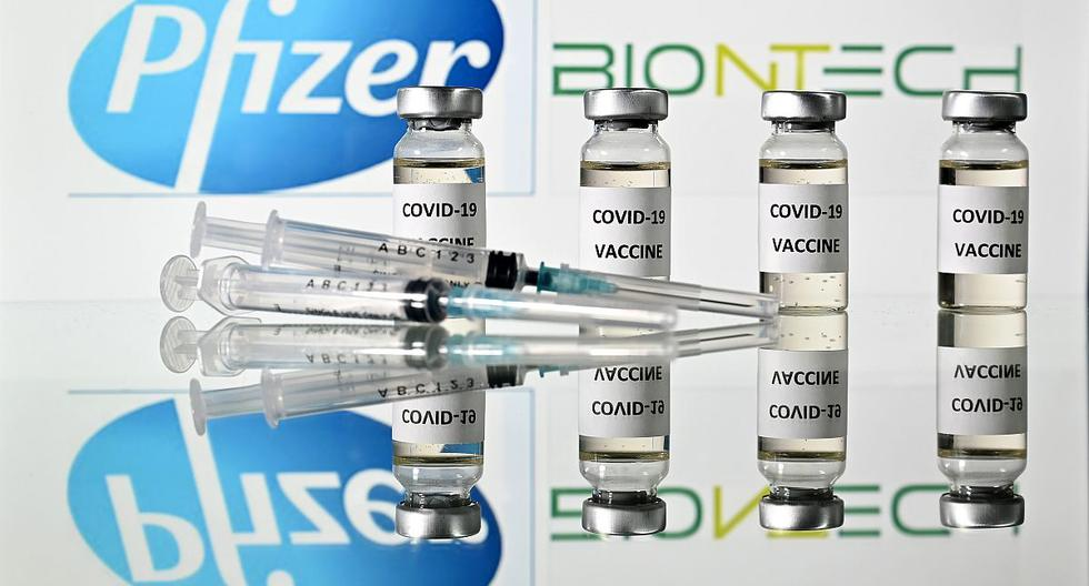 La farmacéutica estadounidense Pfizer ha entregado al ministerio material sobre los ensayos clínicos hechos hasta ahora y otras pruebas. (AFP).