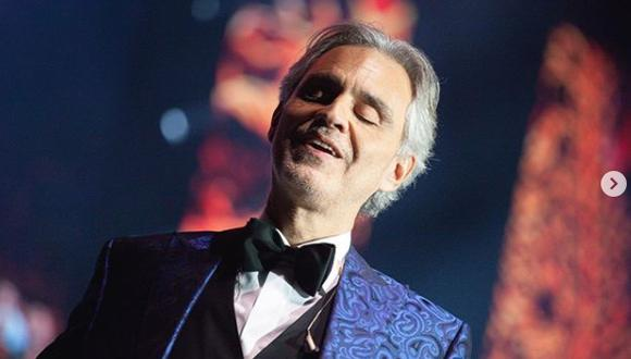 El tenor italiano tiene 62 años y ha vendido más de 90 millones de discos en todo el mundo (Foto: Andrea Bocelli/ Instagram)