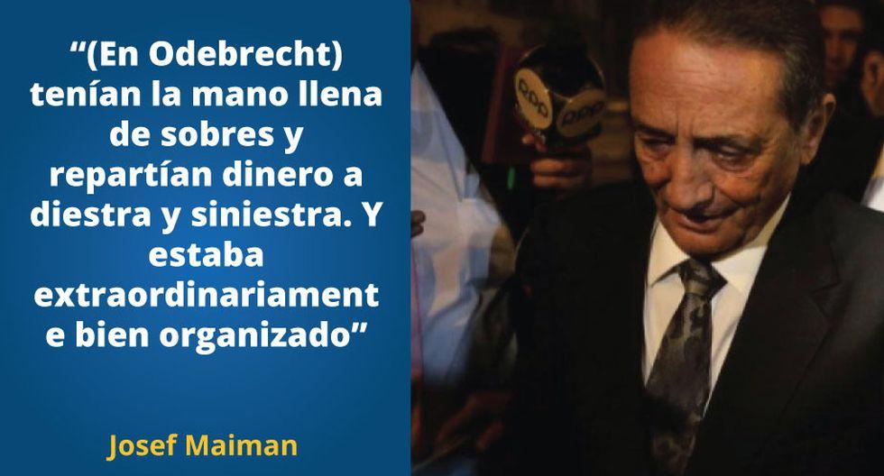 Josef Maiman aclaró que está dispuesto a declarar ante la justicia a explicar las operaciones de transacción de dinero
