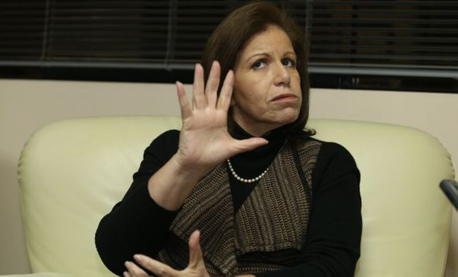 Lourdes Flores saludó que el Ejecutivo tienda puentes de diálogo. (Martín Pauca/Peru21)