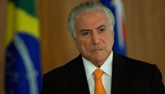 Desde que asumió la presidencia, a mediados de 2016, Temer ha sido objeto de diversas sospechas de corrupción. (Foto: EFE).