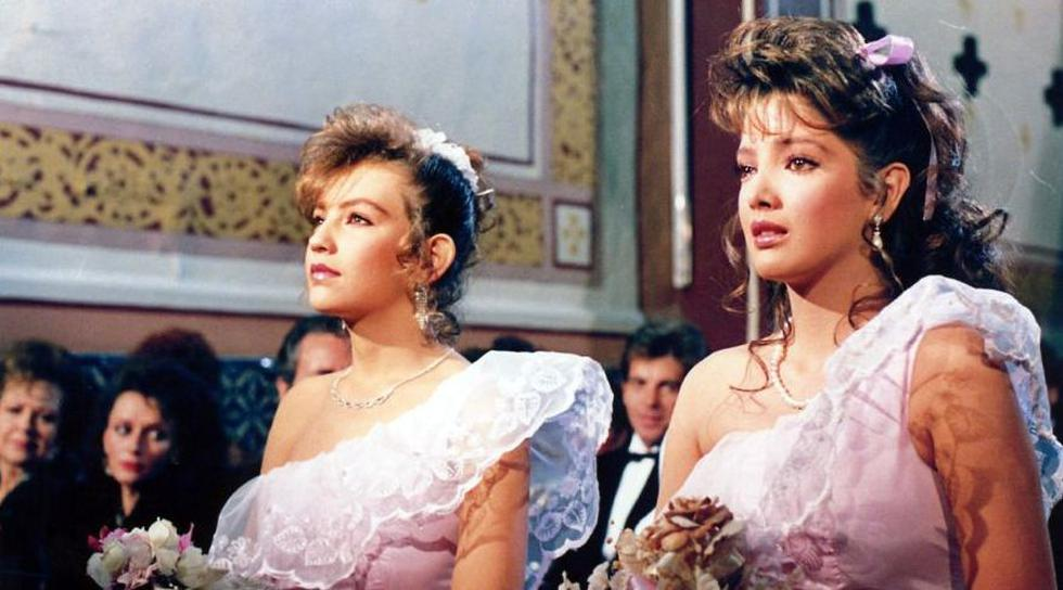 La telenovela fue protagonizada por  Adela Noriega y Thalía. (Twitter/@kehbaez96)