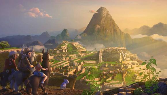 'Las aventuras de Tadeo Jones', cinta española que tiene como escenario principal Machu Picchu (Difusión).
