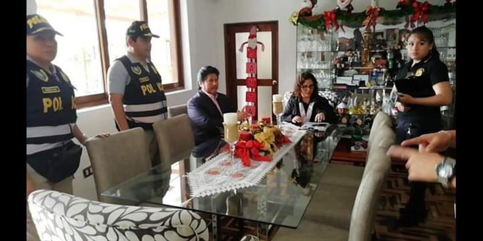Edwin Oviedo fue detenido por 10 días por el caso de Los Cuellos Blanco del Puerto. (Fiscalía)
