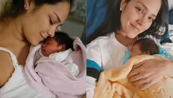 Karen Schwarz reveló que a su bebé le detectaron una extraña enfermedad al corazón. (Foto: @karenschwarzespinoza)