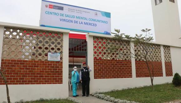 La zona de Lima Sur suma doce locales que atenderán a las personas con trastornos mentales y/o problemas psicosociales. Foto: Minsa