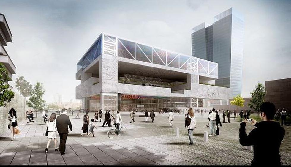 Así luce el Centro de Convenciones de Lima, edificio que será inaugurado para la Junta de Gobernadores del BM y el FMI. (Difusión)