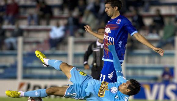SIN PLOMO. Anoche Hernán Rengifo demostró que no es un delantero de nivel internacional. (AP)