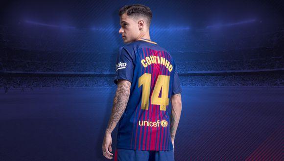 Coutinho podría debutar este jueves con la camiseta del Barcelona.