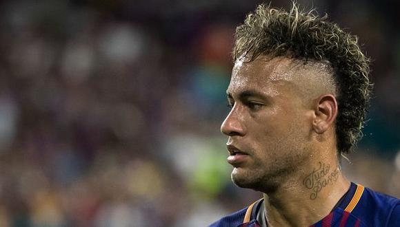 Se complica la llegada de Neymar al PSG. (Getty images)
