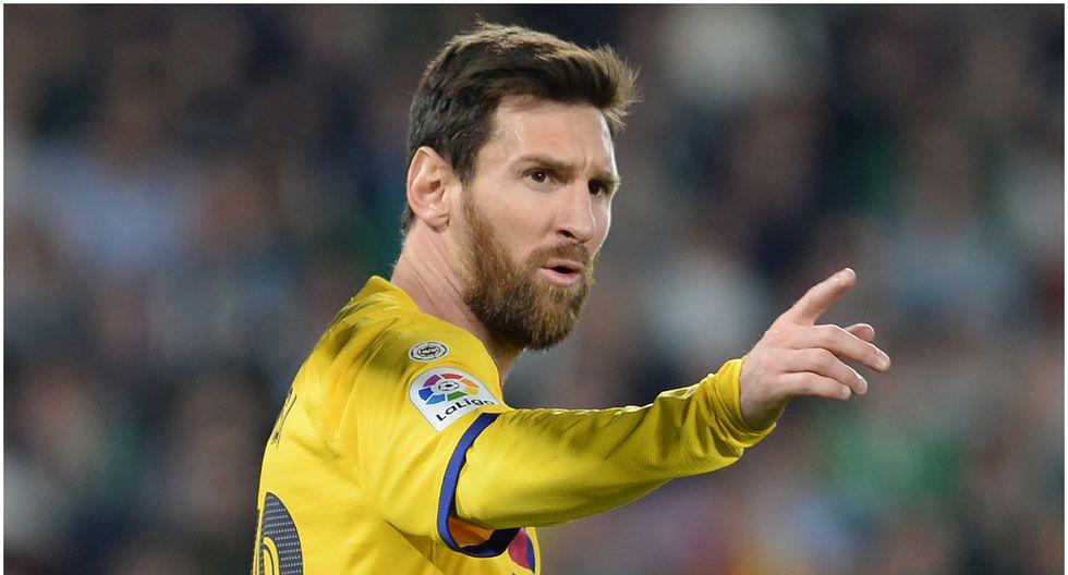 Edad 32: Lionel Messi juega en FC Barcelona y está valorizado en 151 millones de dólares (Foto AFP)