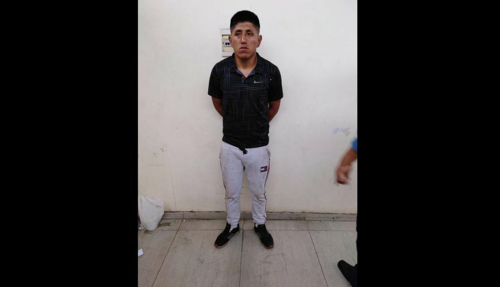 Kevin Quintana Flores (25) fue intervenido por la policía por alterar el orden público. (Foto: Difusión PNP)