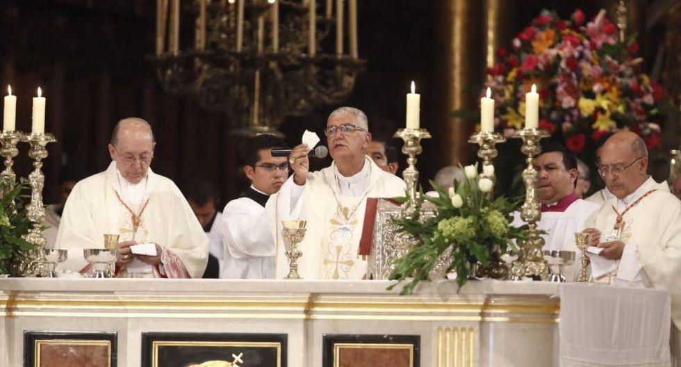 """""""La iglesia no debe ser cómplice de abusos y delitos"""", indicó. (Foto: GEC/Cesar Campos)"""