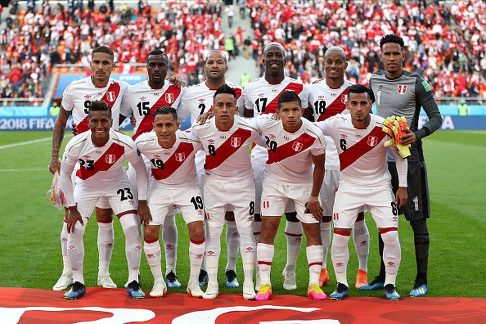 Selección peruana (Getty)