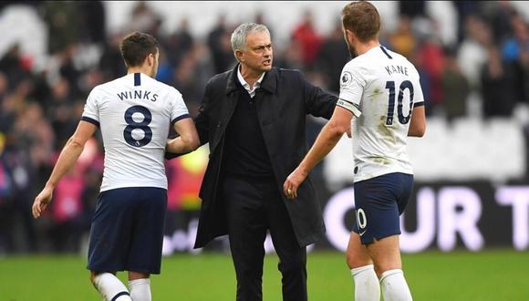 Harry Kane elogia liderazgo de Mourinho (Foto: Reuters)