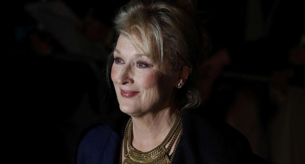 Streep defendió la calidad de la cinta que protagoniza. (Reuters)