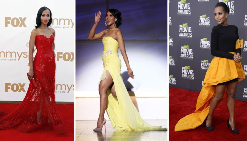 Kerry Washington, estrella de la serie Scandal de ABC y la mejor vestida del mundo para People. Según ella, la comodidad de la prenda es básica para lucir bien. (Reuters)