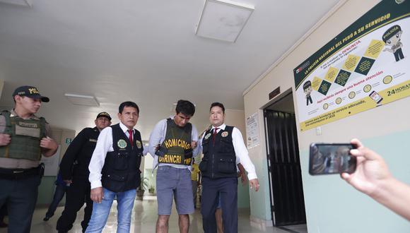Juan Huaripata será internado en un penal de la capital en las próximas horas. (Rolando Angeles/GEC)