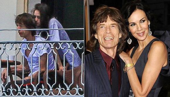 Mick Jagger habría olvidado el luto por la muerte de su exnovia tras ser visto con una misteriosa joven. (dailymail.co.uk/AP)