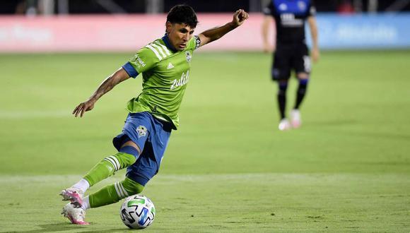 Raúl Ruidíaz no podrá enfrentar a LA Galaxy por la MLS (Foto: AFP)