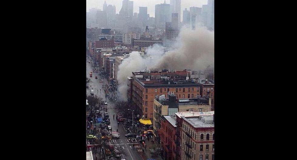 Explosión en Manhattan habría dejado más de 30 heridos. (Twitter/@DoriToribio)