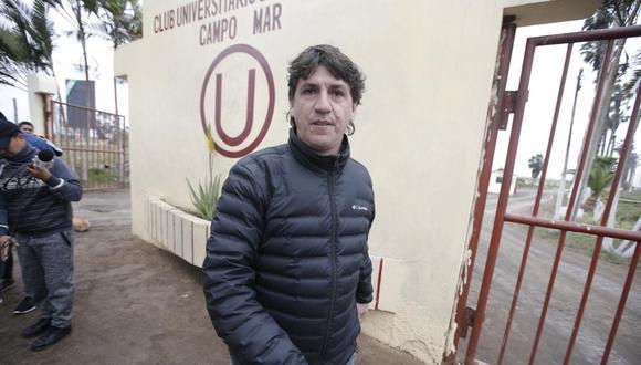 El gerente deportivo de la 'U', Jean Ferrari, quiere que la convocatoria de noviembre sea coordinada con la FPF para evitar problemas. (Crédito: Francisco Neyra)
