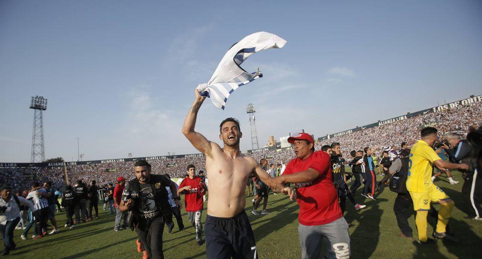 Luis Aguiar fue considerado como uno de los mejores jugadores de Alianza en el año. (Piko Tamashiro / Perú21)