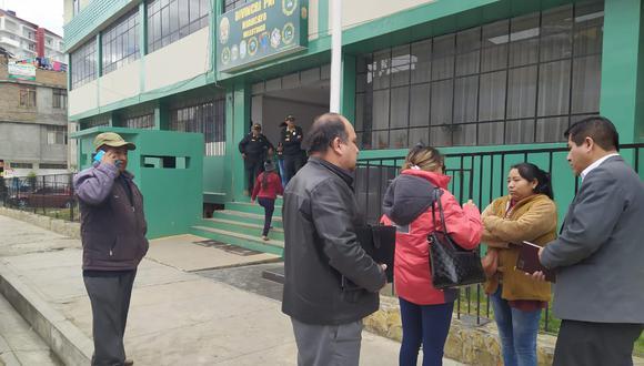 Junín. Agentes de la comisaría de Chilca, en Huancayo, bajo la lupa.