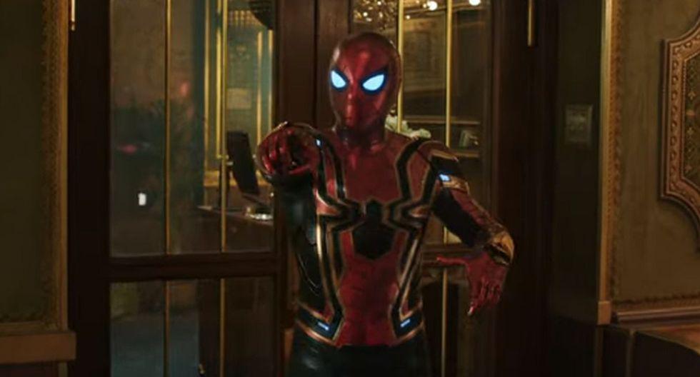 """""""Spider-Man: Far From Home"""" ya cuenta con nuevos afiches promocionales. (Foto: Captura de video)"""