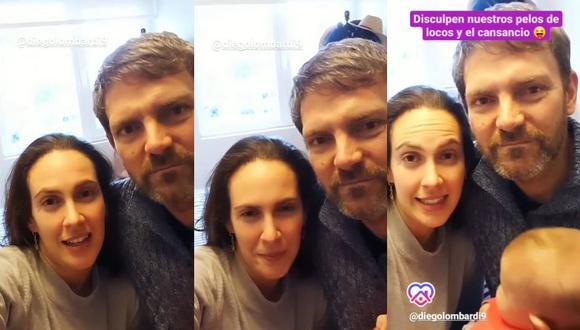 Emilia Drago y Diego Lombardi revelan que a su hija Lara le han detectado displasia de cadera. (Foto: Captura de video)