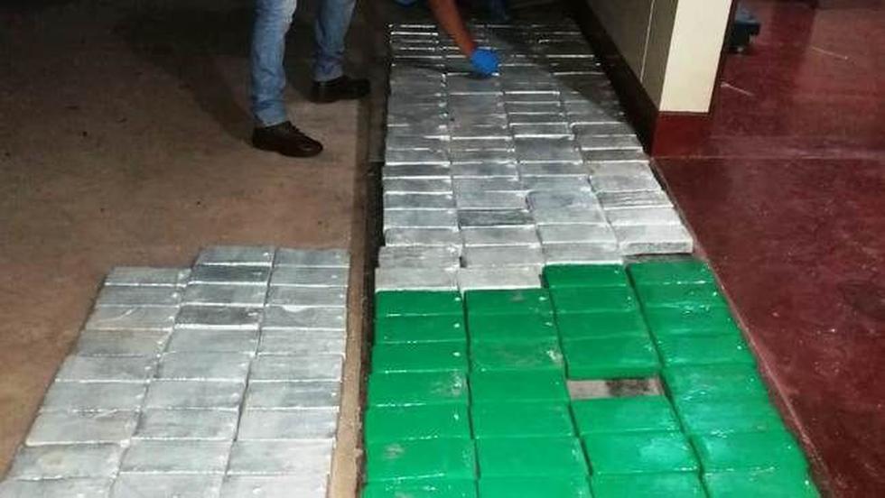 Incautan 174 kilos de droga en Junín