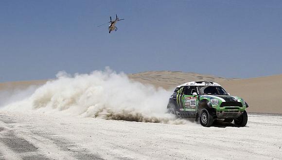 El francés Stéphane Peterhansel es el piloto más ganador del Rally Dakar. Hoy va por la décima corona. (Reuters)